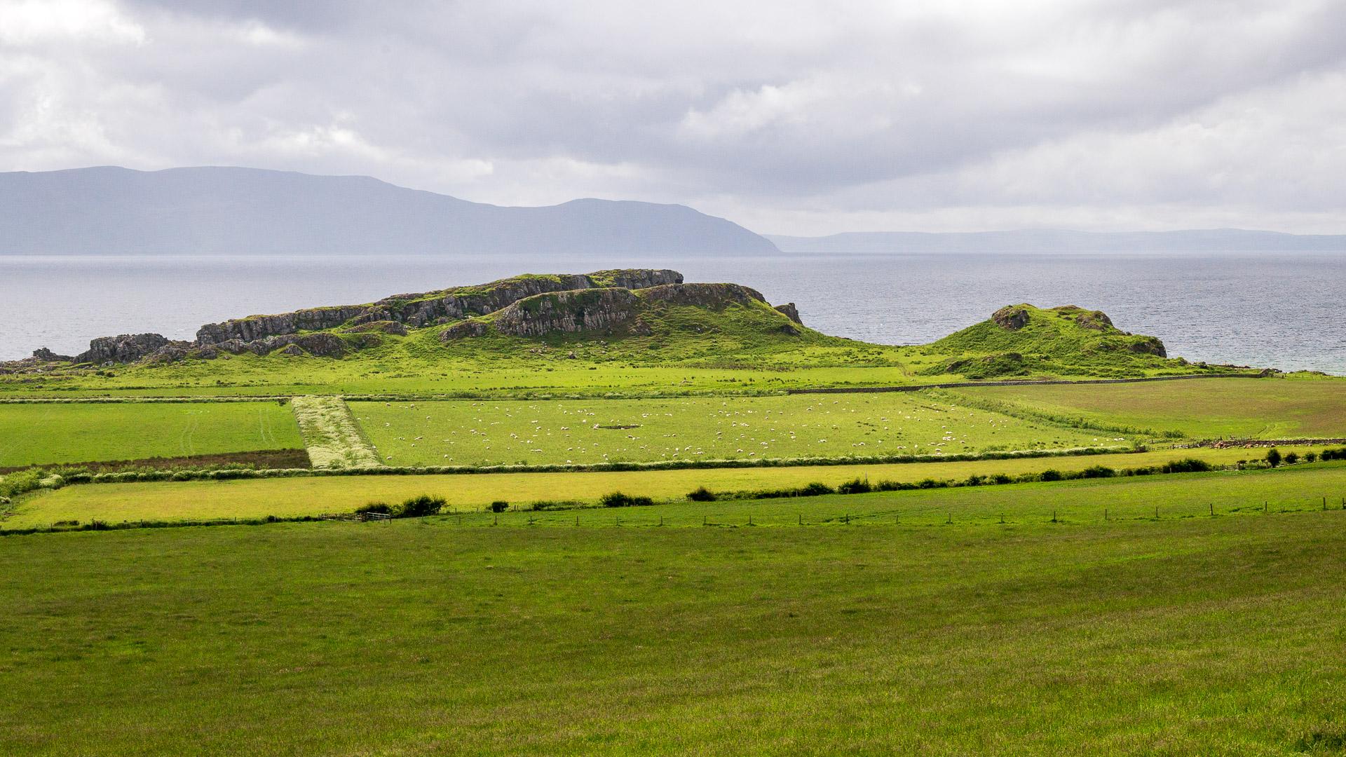 Ausblick auf Arran und Kintyre
