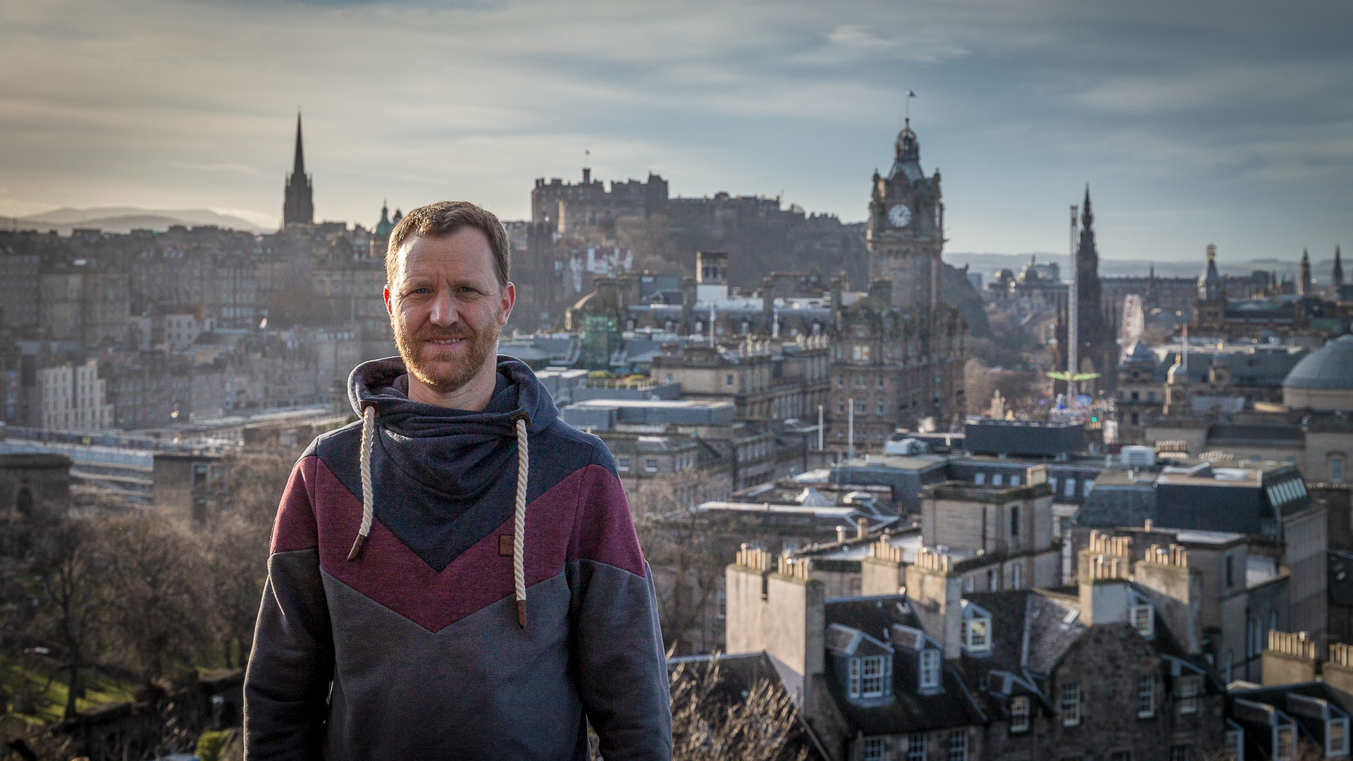 Stephan Goldmann in Edinburgh
