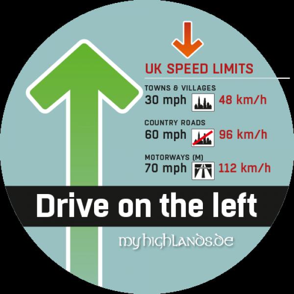 Sicher Autofahren In Schottland