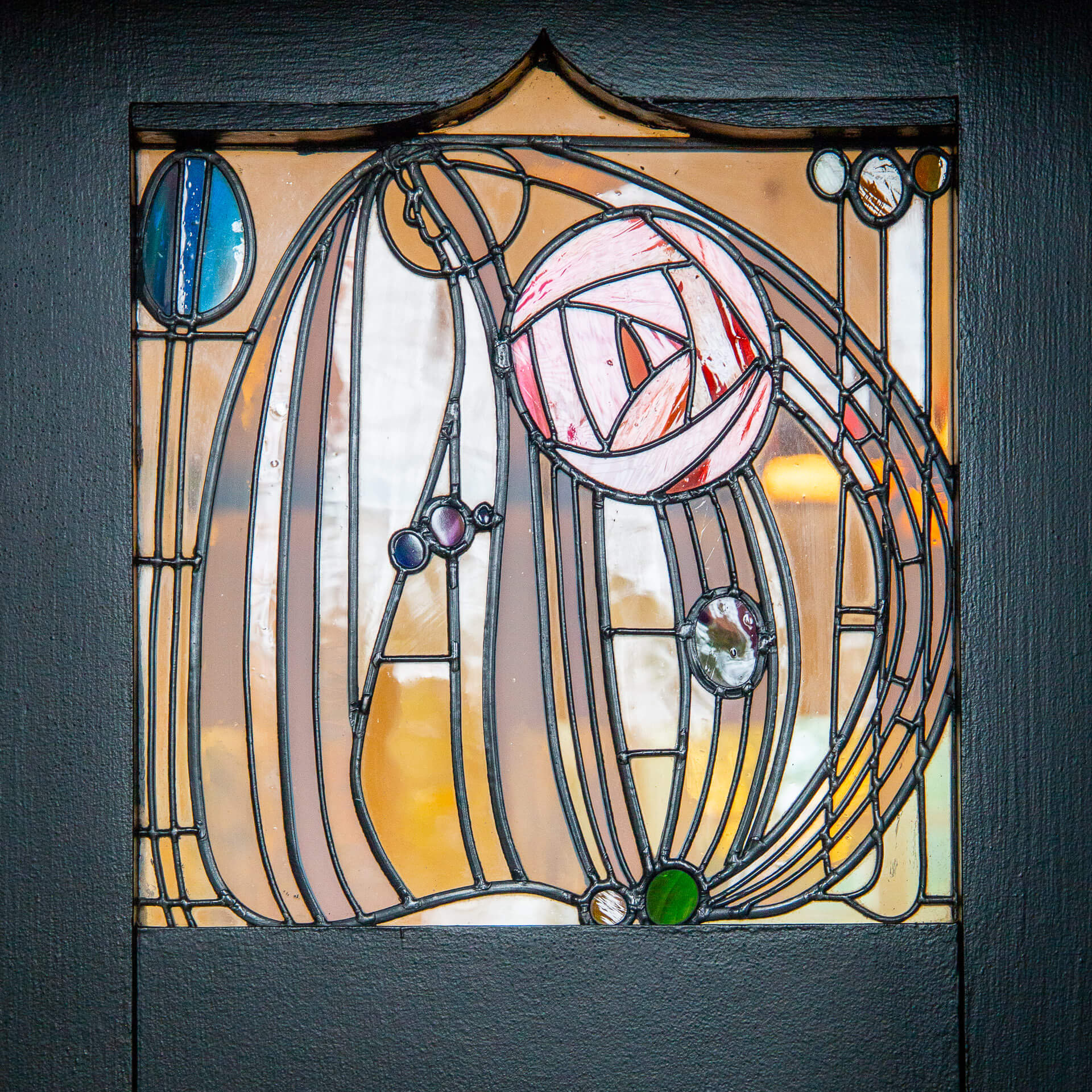 Mackintosh-Rose im House for an Artlover