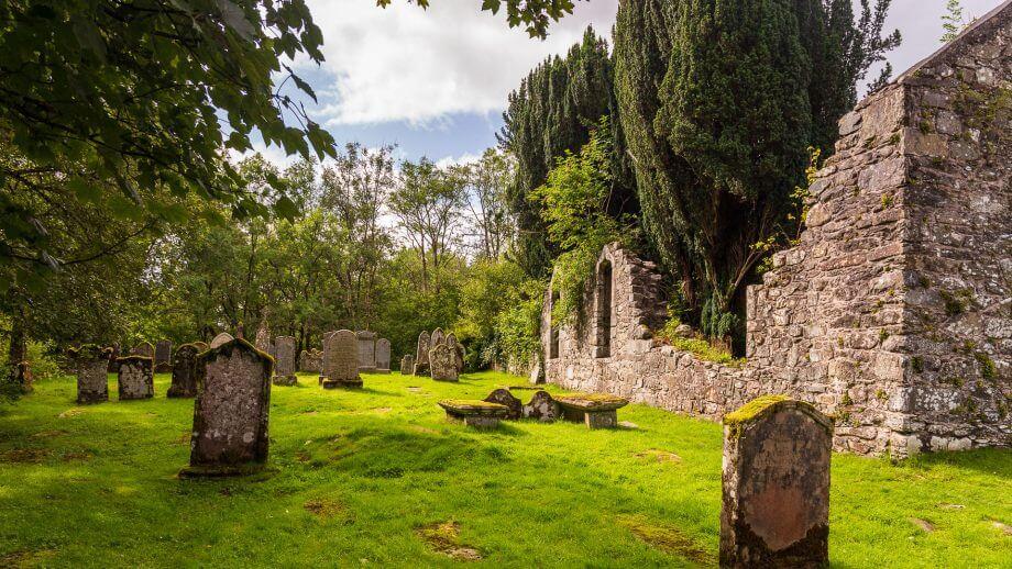 Die alte Kirche von Balquhidder