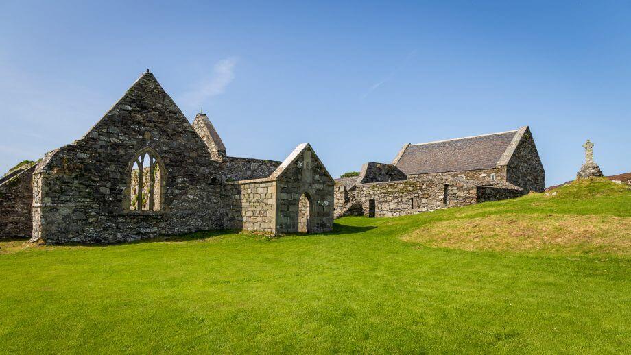 Das Kloster von Oronsay