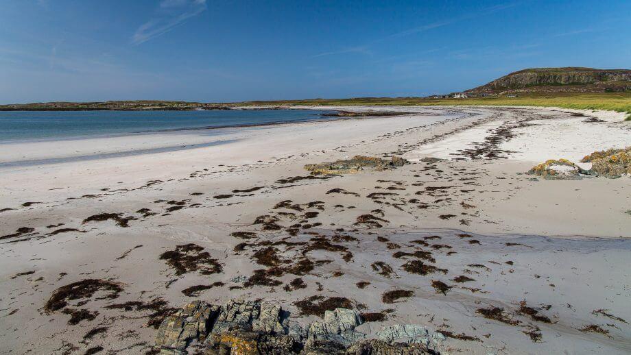 Der Strand gleich beim Kloster