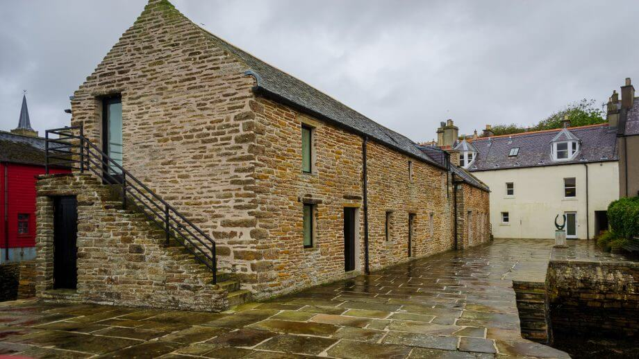 Piers Arts Gallery in Stromness