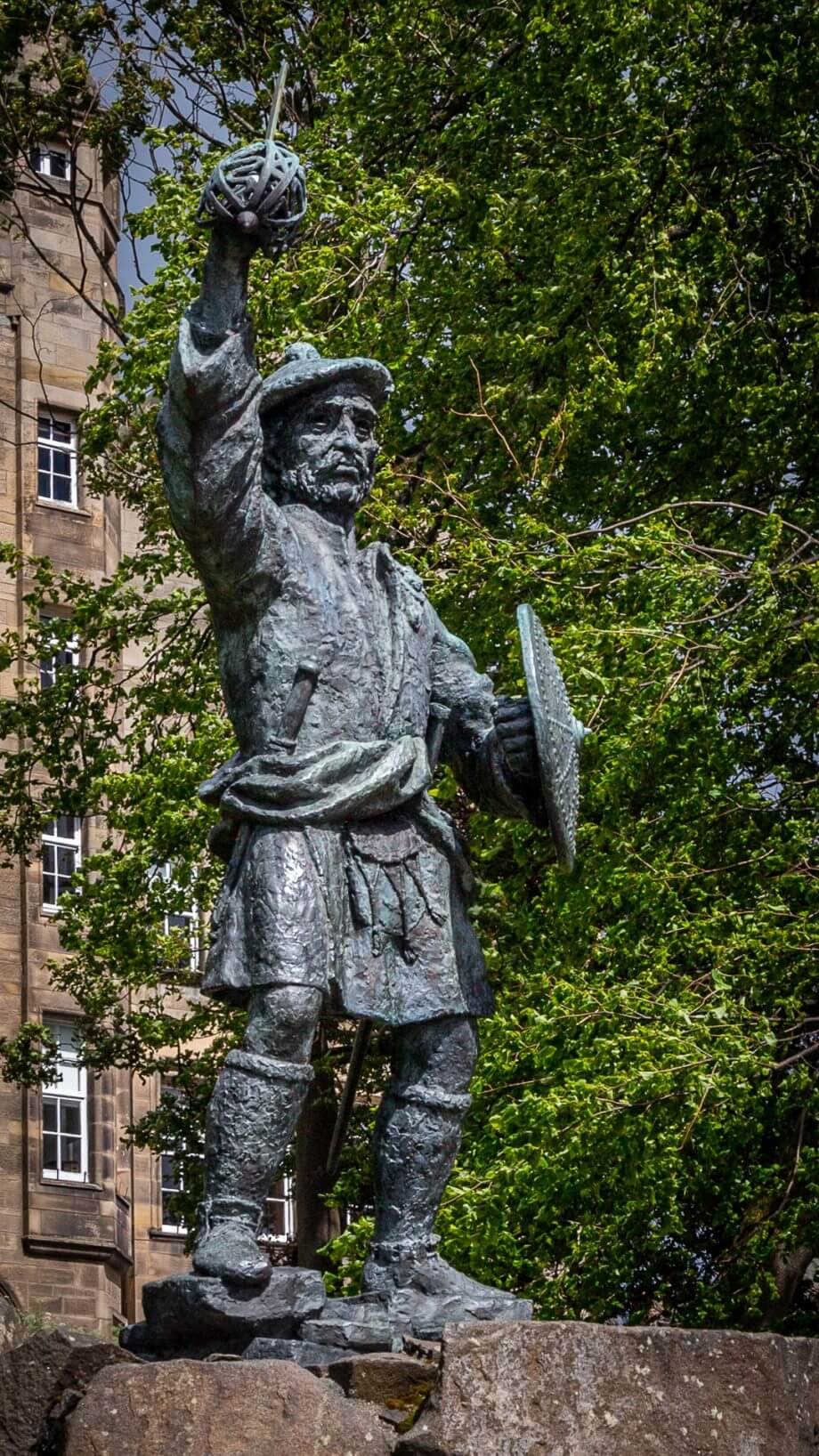 Rob-Roy-Statue bei Stirling