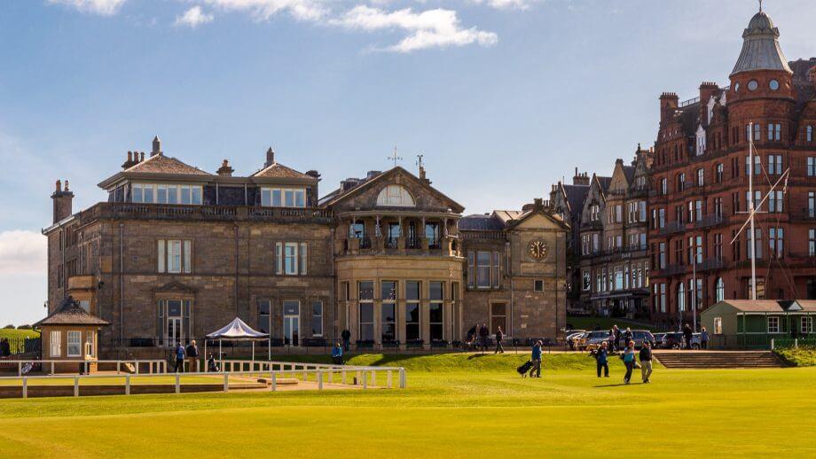 Der alte Golfplatz von St Andrews ist begehrt