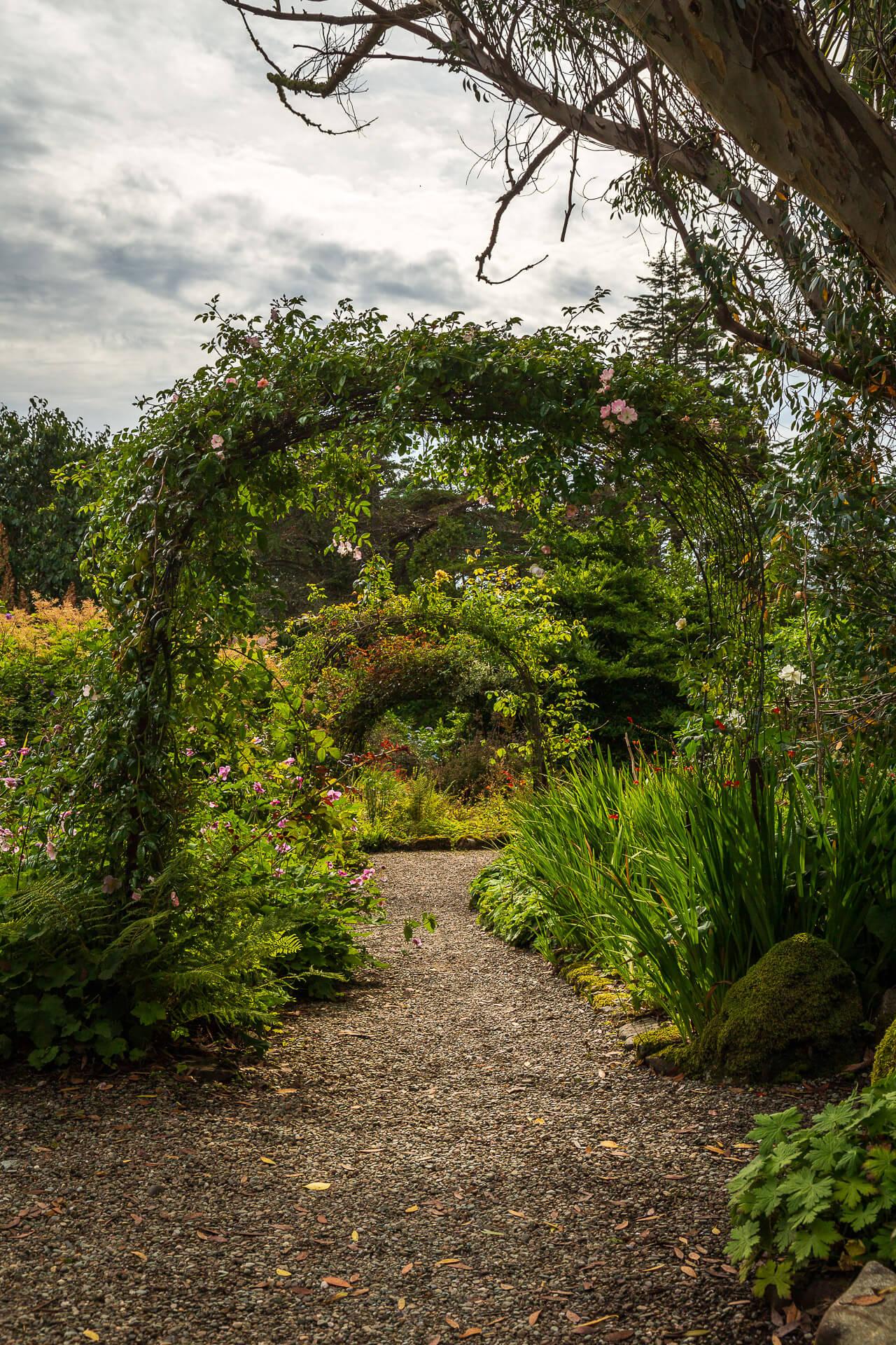 Pergolas im Garten