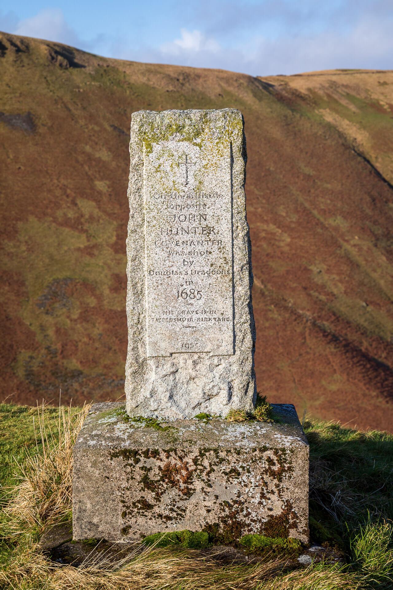 Das Denkmal für John Hunter