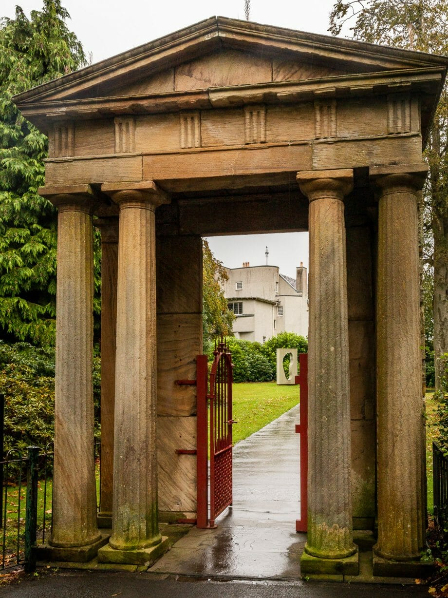 Ibroxhill House Portico
