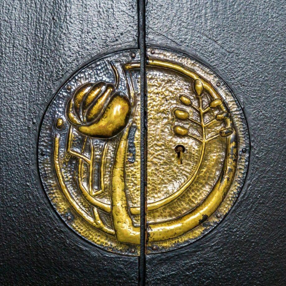 An einer Tür