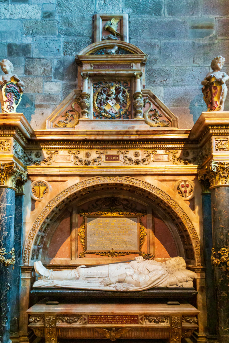 Das Grabmal von Montrose