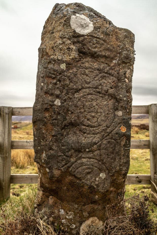 Clach Ard bei Tote, Isle of Skye