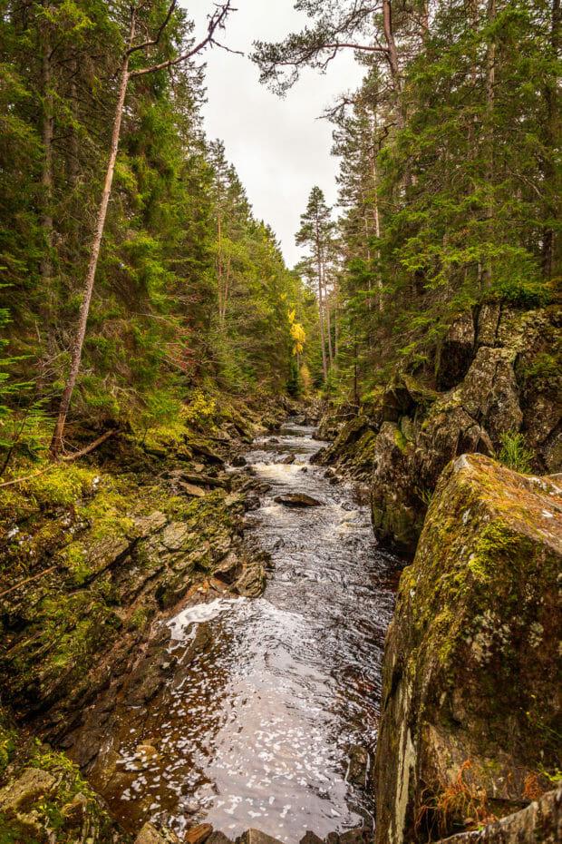 Der River Pattack vor den Wasserfällen