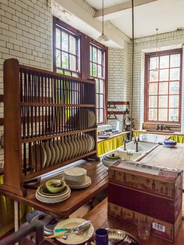 Küche im Ardkinglas House