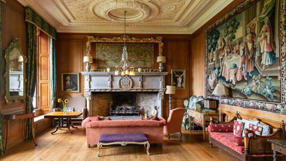 Wohnzimmer im Ardkinglas House