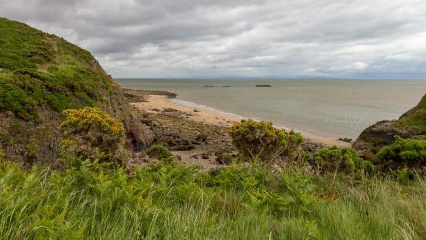 Küste am Solway Firth