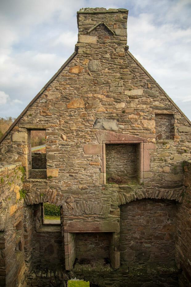 Innenseite Carsluith-Castle
