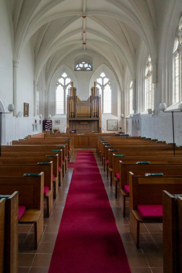 Das Innere der St Monans Church