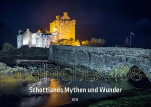 Titelseite Wandkalender MyHighlands 2018