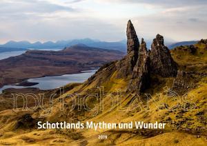 Wandkalender Schottland 2019