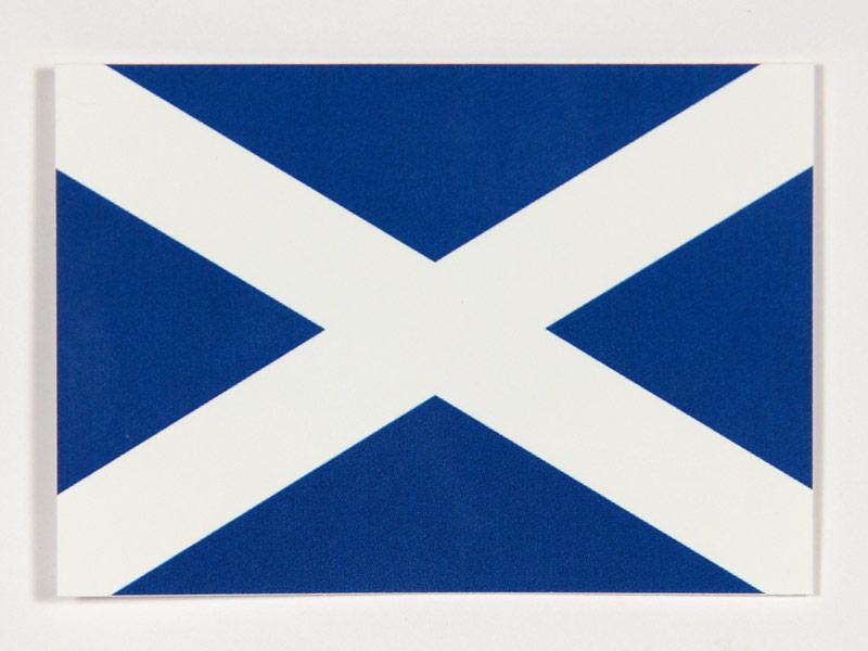Schottlands Flagge und Wappen: Löwen, Einhörner und ...